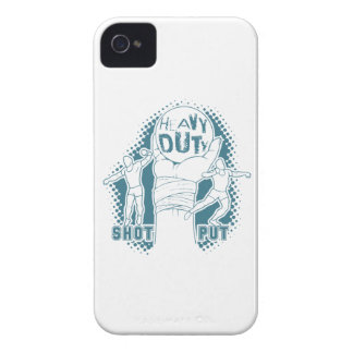Heavy duty – shot put iPhone 4 Case-Mate cases
