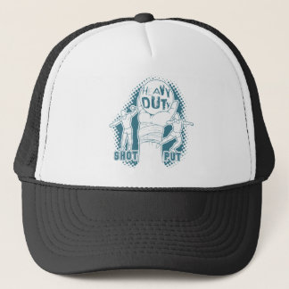 Heavy duty – shot put trucker hat