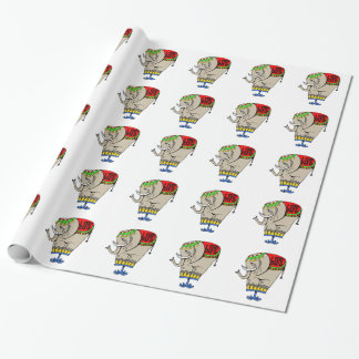 Heavy Elephant Wrapping Paper