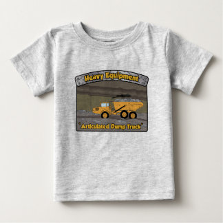 Heavy Equipment Articulated Dump Truck Baby T-Shirt