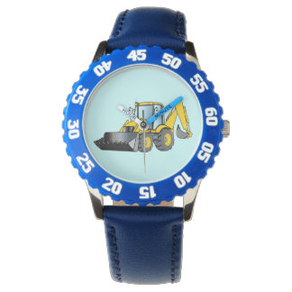 Heavy Equipment: Backhoe Watch