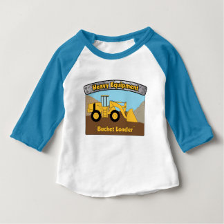 Heavy Equipment Bucket Loader baby Tee