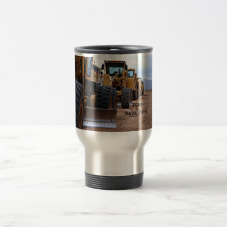 Heavy Equipment Image Travel Mug
