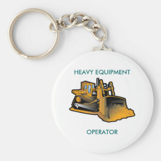 HEAVY EQUIPMENT, OPERATOR KEYCHAIN