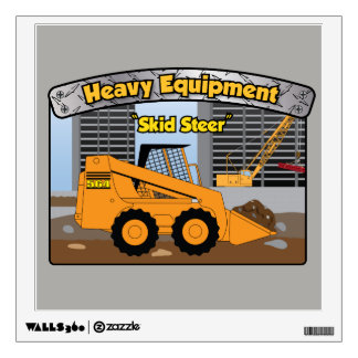 Heavy Equipment Skid Steer Wall Decor