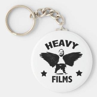 Heavy Films Basic Round Button Keychain
