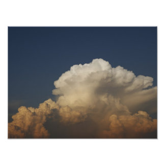Heavy Gale Stormy Clouds Poster