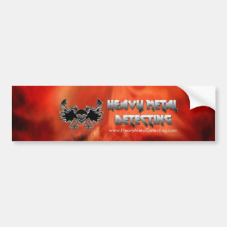 Heavy Metal Detecting Bumper Sticker