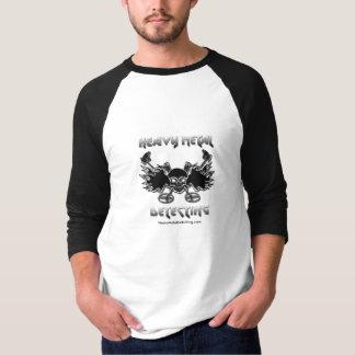 Heavy Metal Detecting Jersey T T-Shirt