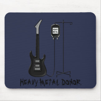 Heavy Metal Donor Music Mouse Pad