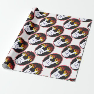 Heavy-Metal Hand Wrapping Paper