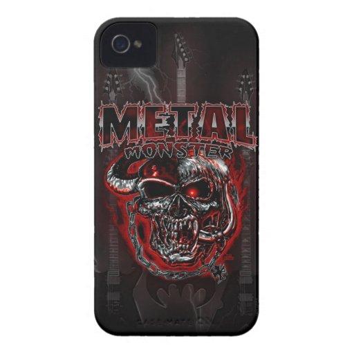 Heavy Metal Monster iPhone 4 Cases