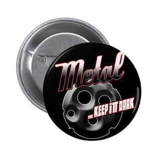 Heavy Metal music t shirt hat hoodie sticker stuff 2 Inch Round Button