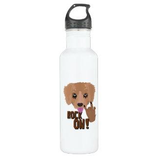Heavy metal Puppy rock on 710 Ml Water Bottle