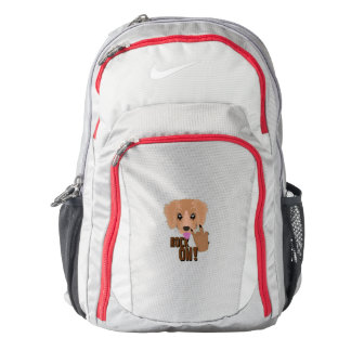 Heavy metal Puppy rock on Backpack