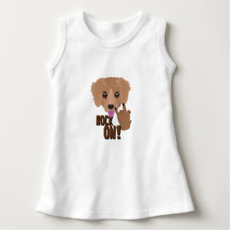 Heavy metal Puppy rock on Dress