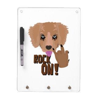 Heavy metal Puppy rock on Dry-Erase Whiteboard