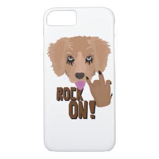 Heavy metal Puppy rock on iPhone 8/7 Case