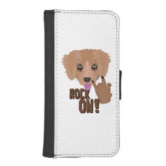 Heavy metal Puppy rock on iPhone SE/5/5s Wallet Case