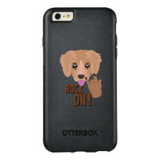 Heavy metal Puppy rock on OtterBox iPhone 6/6s Plus Case