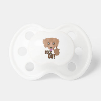 Heavy metal Puppy rock on Pacifier