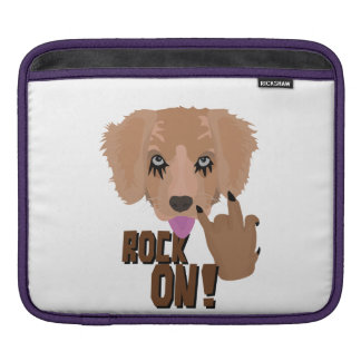 Heavy metal Puppy rock on Sleeves For iPads