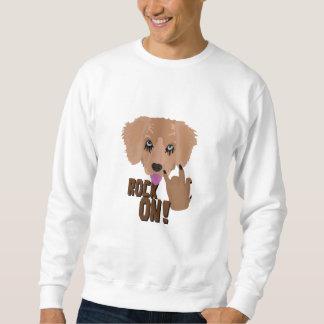 Heavy metal Puppy rock on Sweatshirt