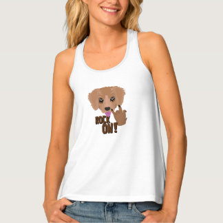 Heavy metal Puppy rock on Tank Top