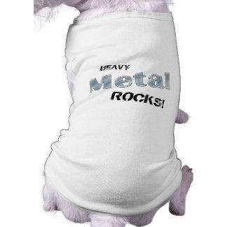 Heavy Metal Rock Music Pet clothing t shirt