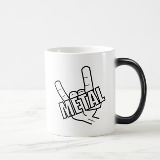 Heavy Metal Salute Music Magic Mug