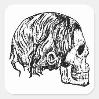 Heavy Metal Skull Stickers