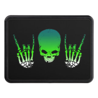 Heavy Metal Skull Tow Hitch Cover