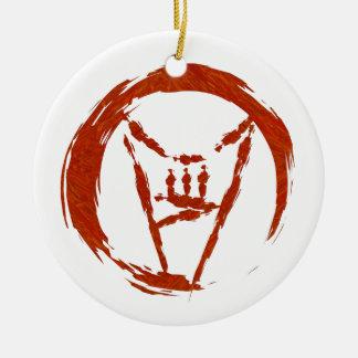 Heavy Metal Universe Logo Ceramic Ornament