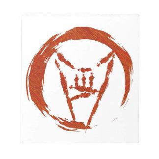Heavy Metal Universe Logo Notepad