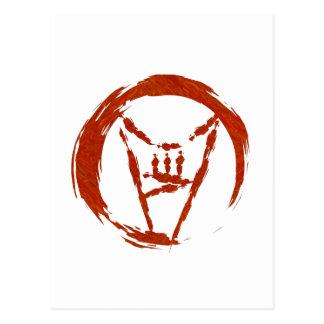 Heavy Metal Universe Logo Postcard
