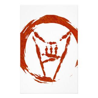 Heavy Metal Universe Logo Stationery
