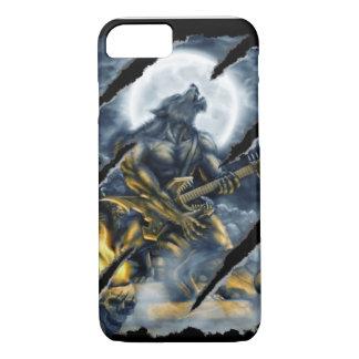 Heavy metal werewolf iPhone 7 case