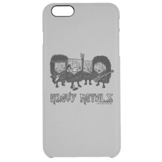 Heavy Metals Clear iPhone 6 Plus Case