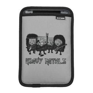 Heavy Metals iPad Mini Sleeves