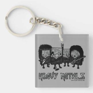 Heavy Metals Keychain