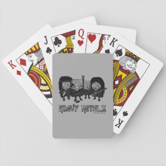 Heavy Metals Poker Deck