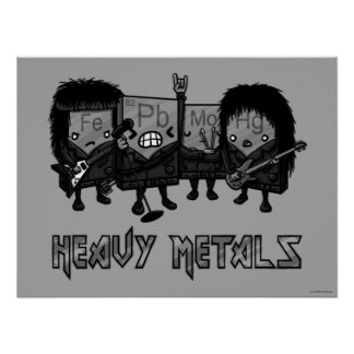 Heavy Metals Poster
