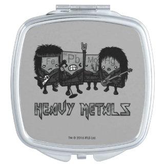 Heavy Metals Travel Mirror