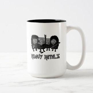 Heavy Metals Two-Tone Coffee Mug