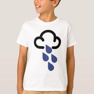 Heavy Rain: Retro weather forecast symbol T-Shirt
