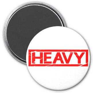 Heavy Stamp Magnet