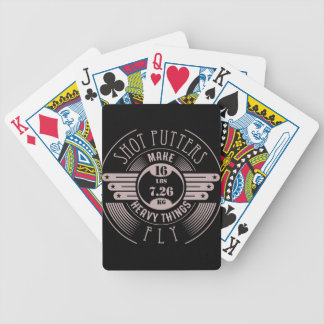heavy things that fly 2 bicycle playing cards