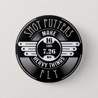heavy things that fly 2 inch round button