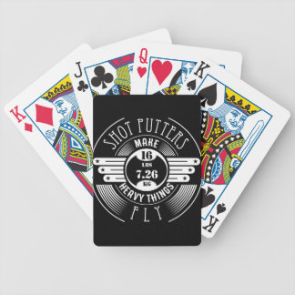 heavy things that fly bicycle playing cards