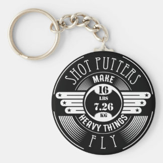 heavy things that fly keychain